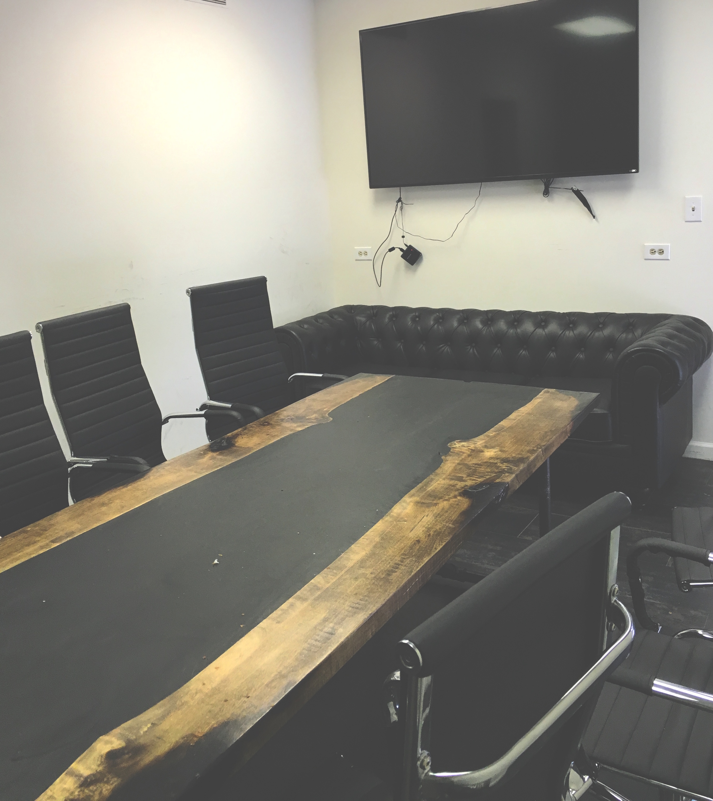 Fully Equipped with TV Monitor and Conference Chairs
