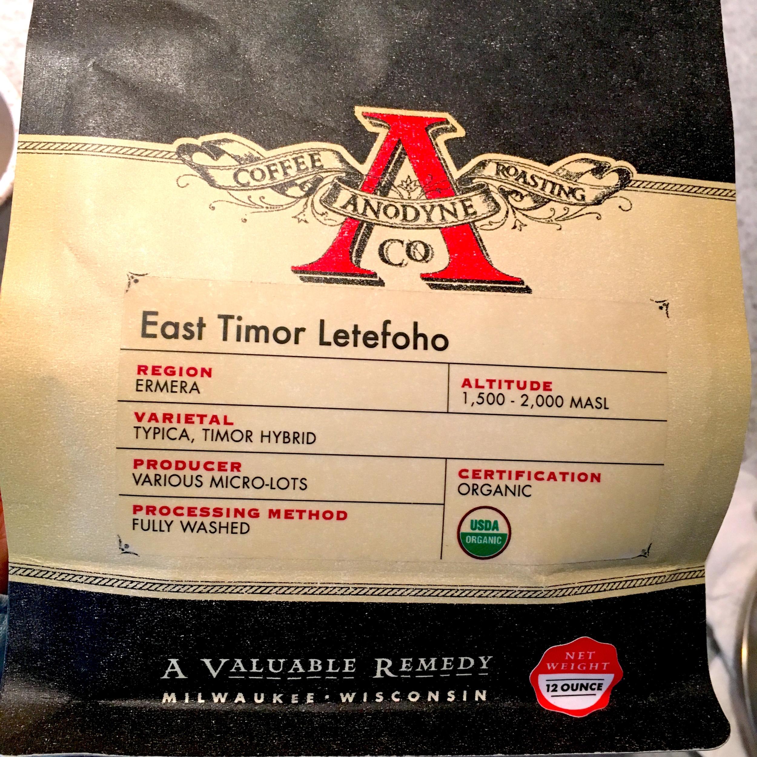 Anodyne East Timor Letefoho