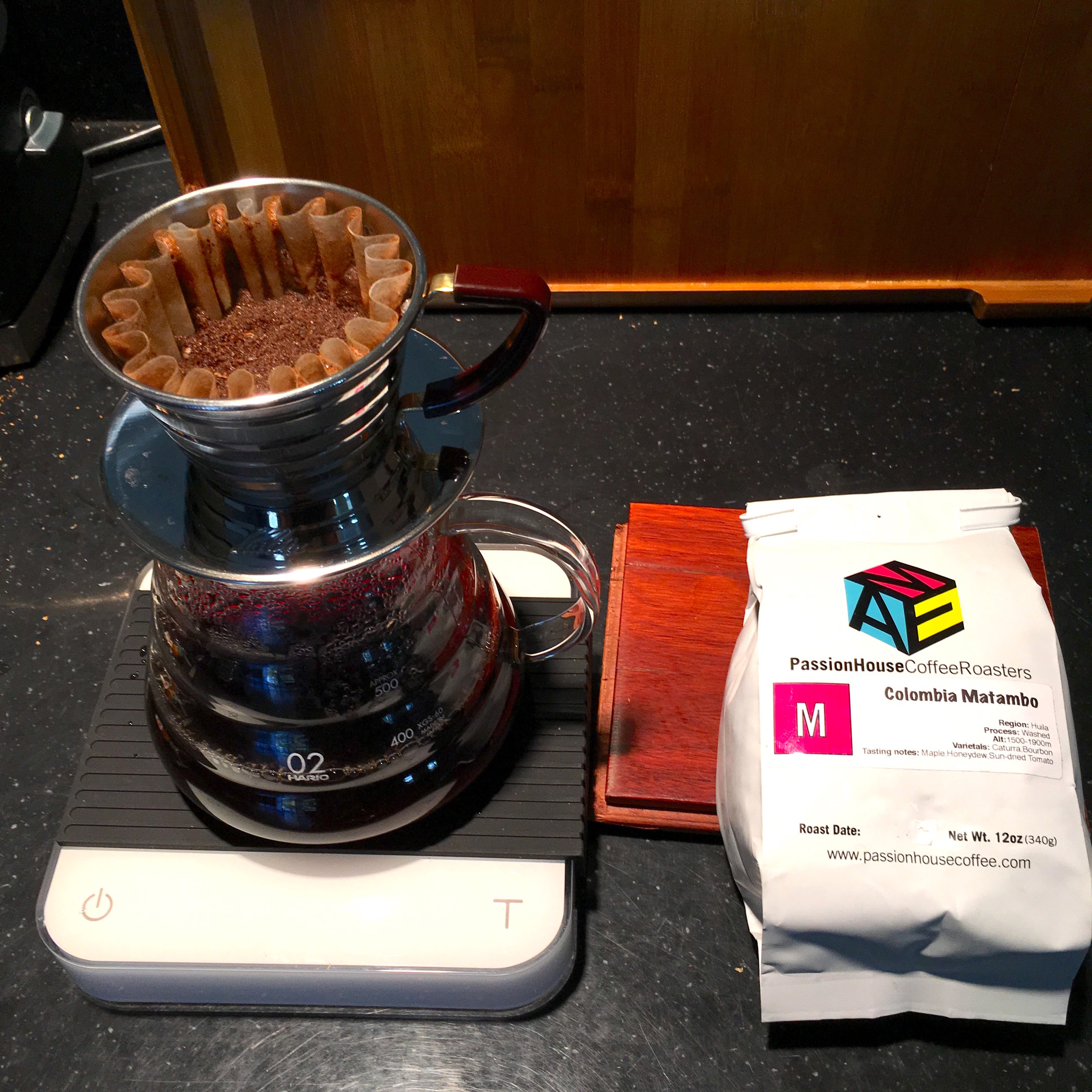 Passion House Colombia Matambo Yield