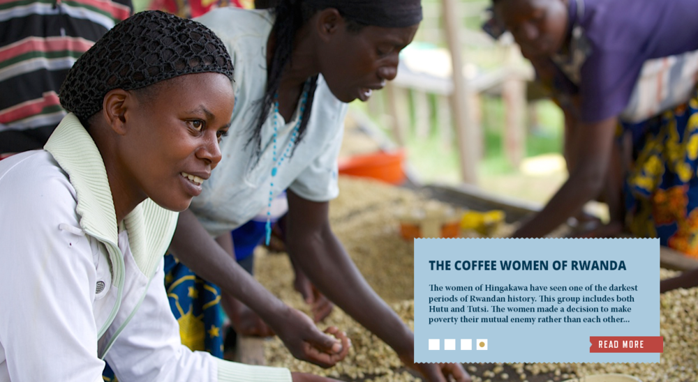 Read More About the Coffee Women of Rwanda