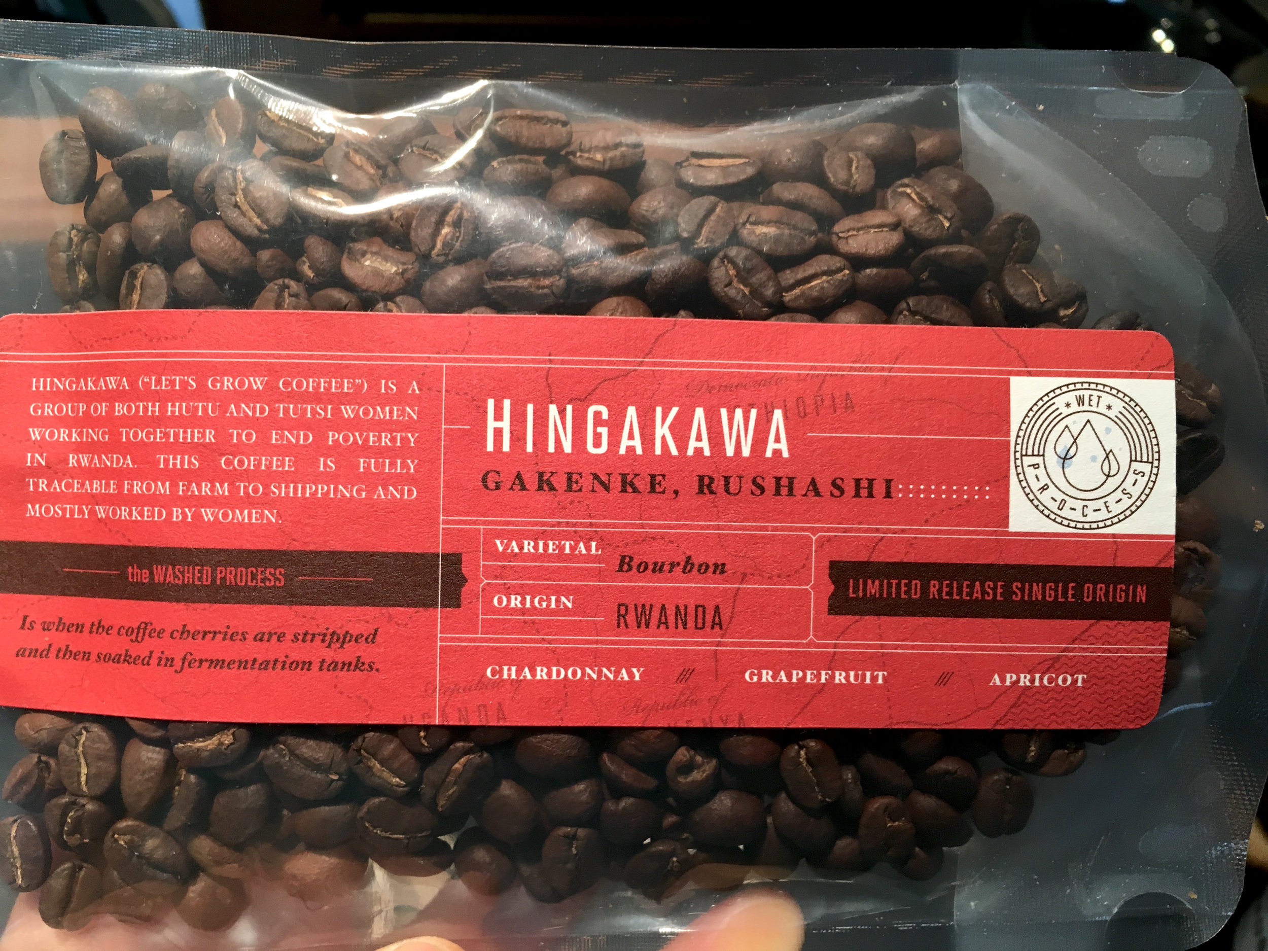 Torch Coffee Rwanda Hingakawa Information