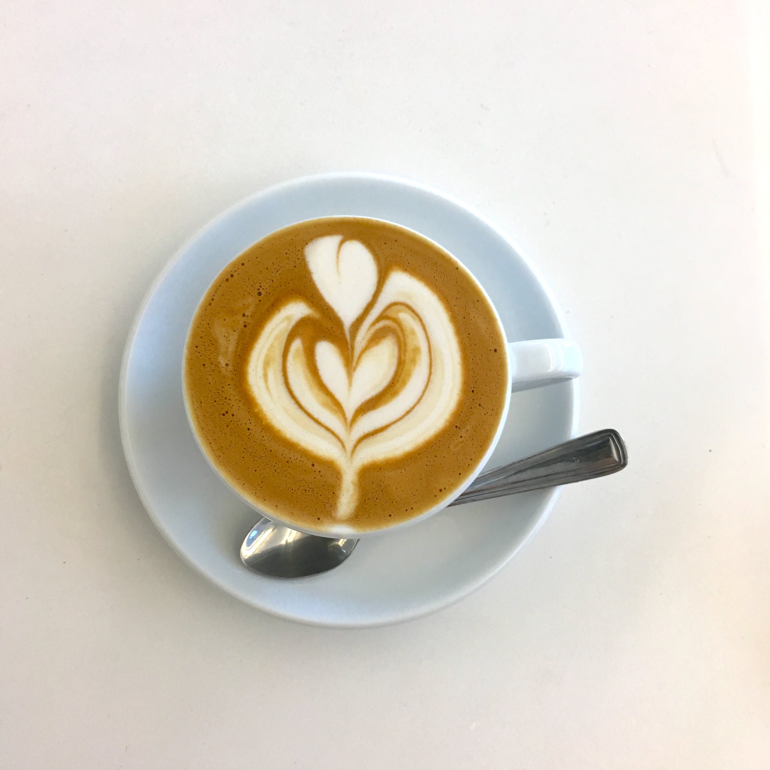 Cappuccino Art:BAM!