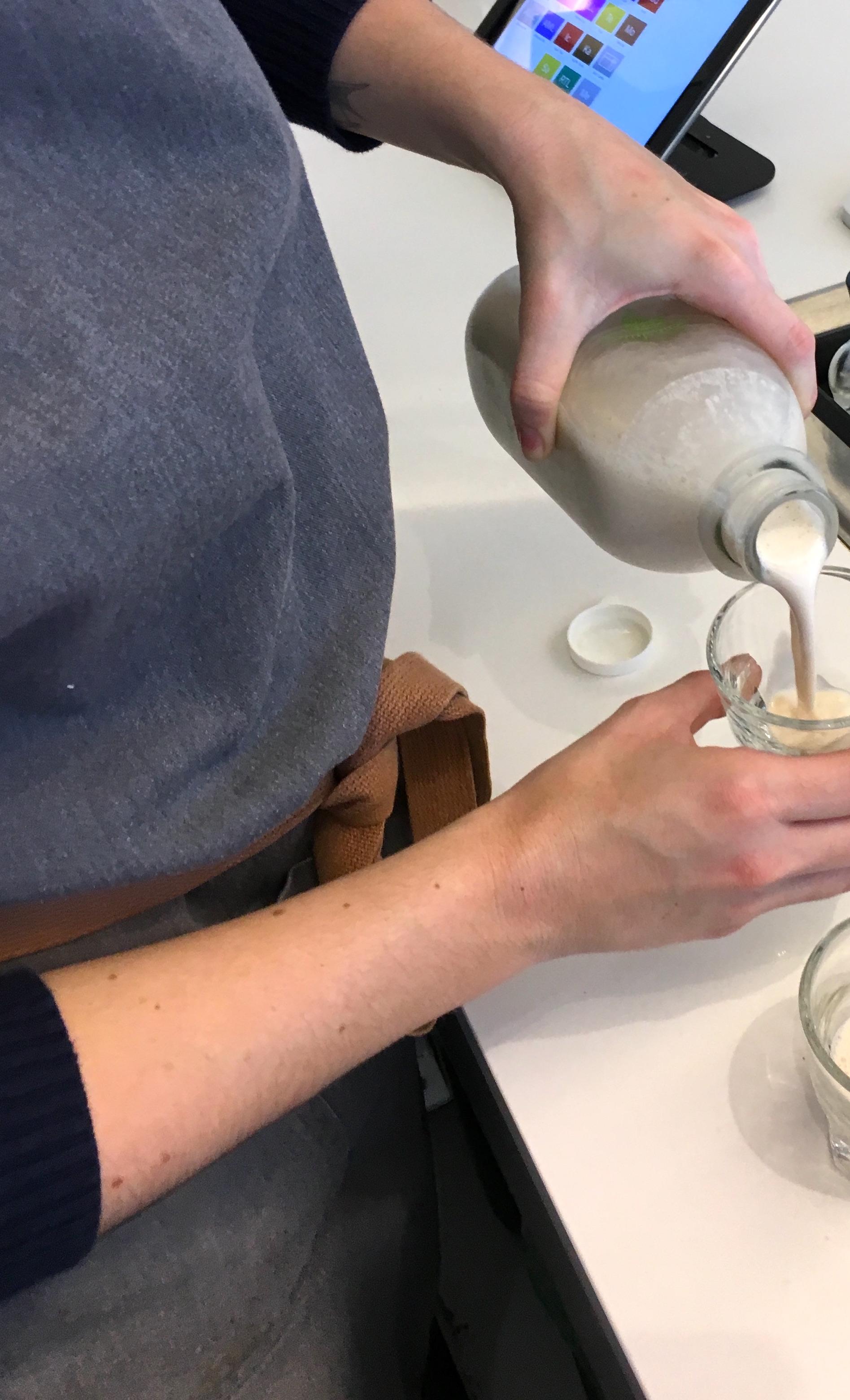 Initial Taste Test at Refrigerated Temperature