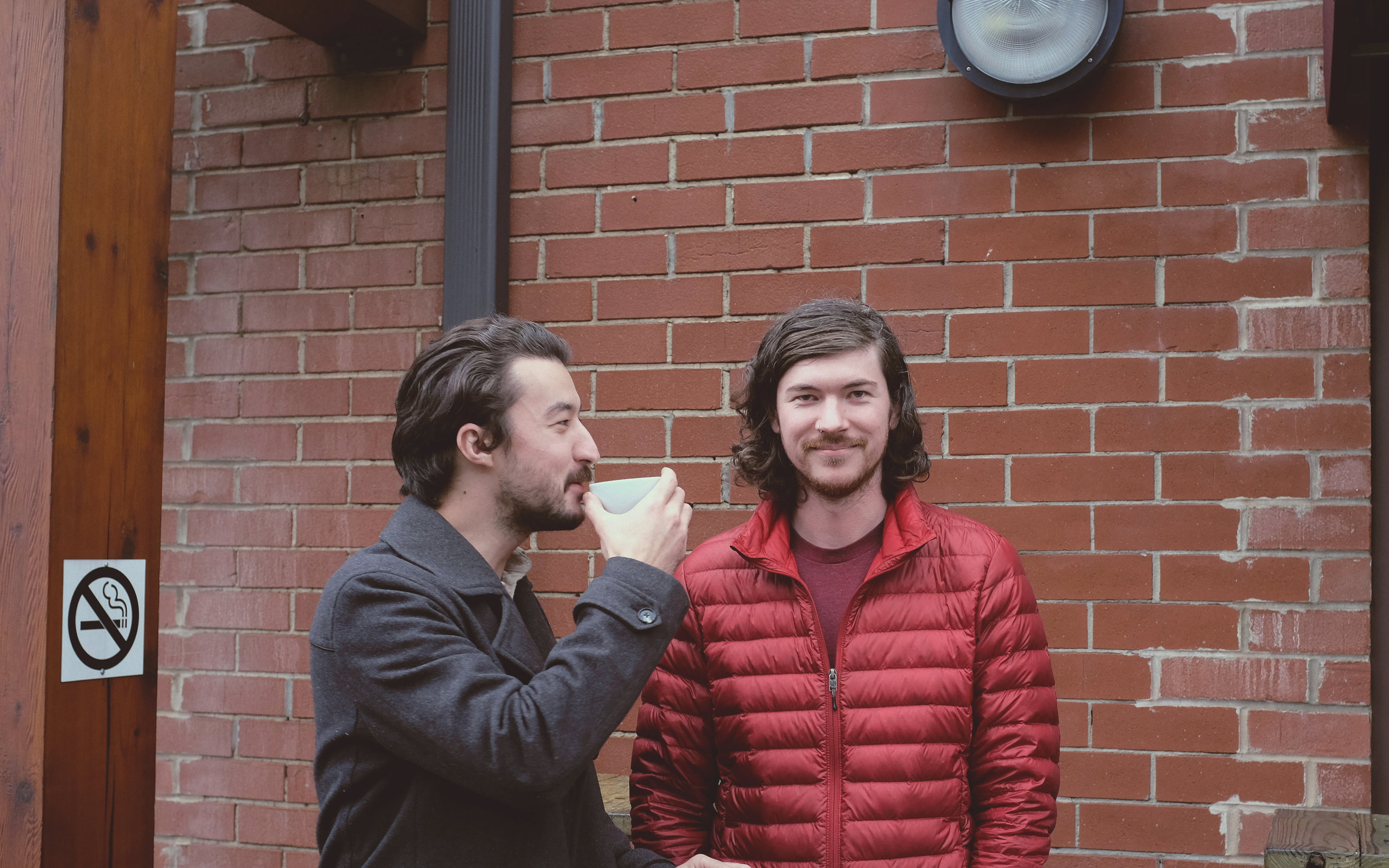 Hex Coffee Co-Founders, Tanner & John Michael