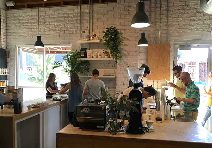 Hex Coffee Espresso Bar, Courtesy of Charlotte Agenda