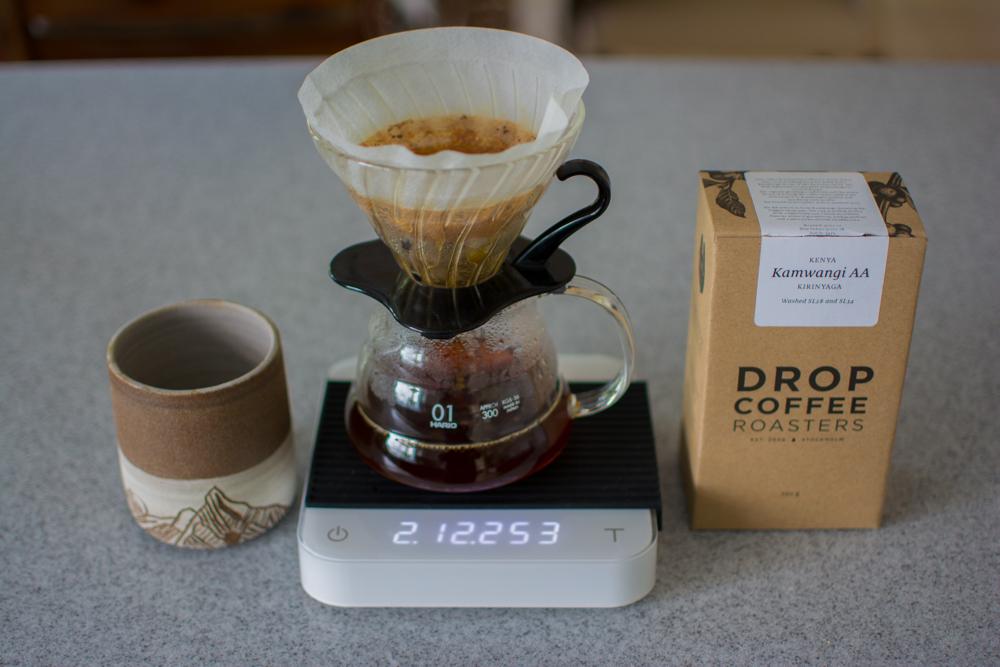 Great coffee with an incredible mug