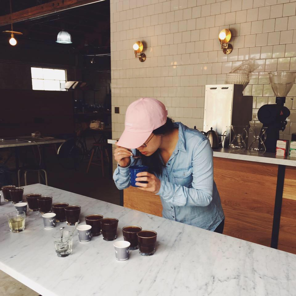 Cupping at Intelligentsia, San Francisco Roasting Works