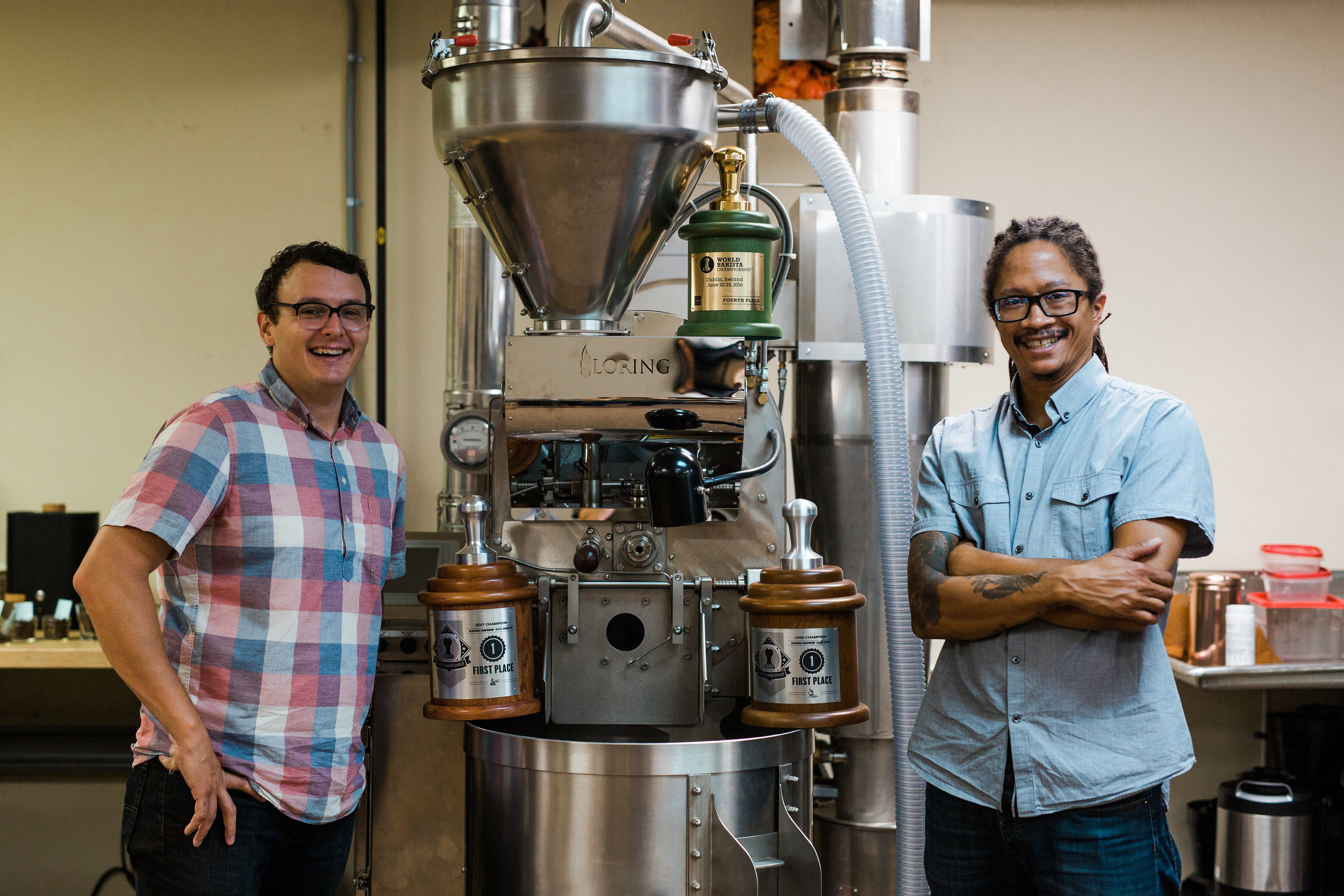 Kyle Ramage and Lemuel Butler, Black & White Roasters