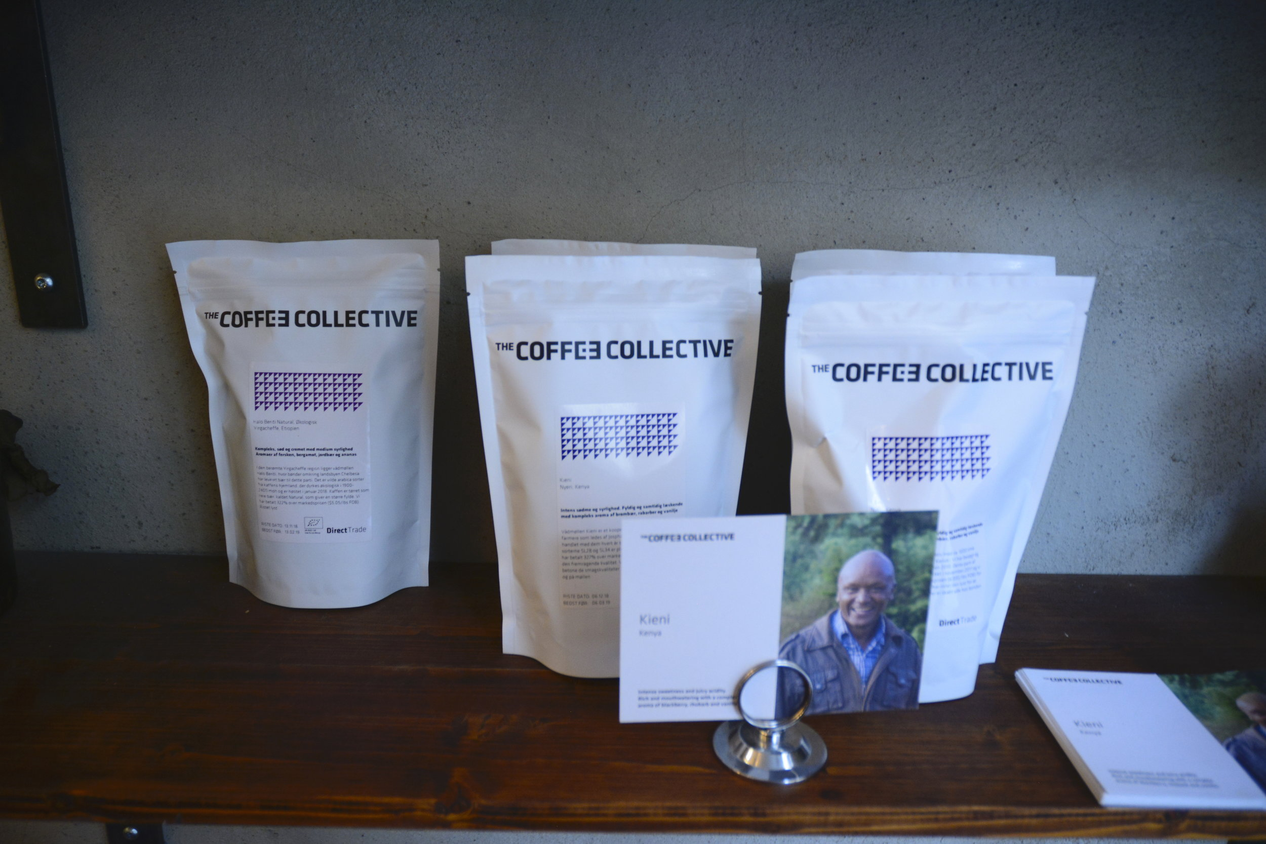 Proudly Serving Copenhagen-based roaster, The Coffee Collective