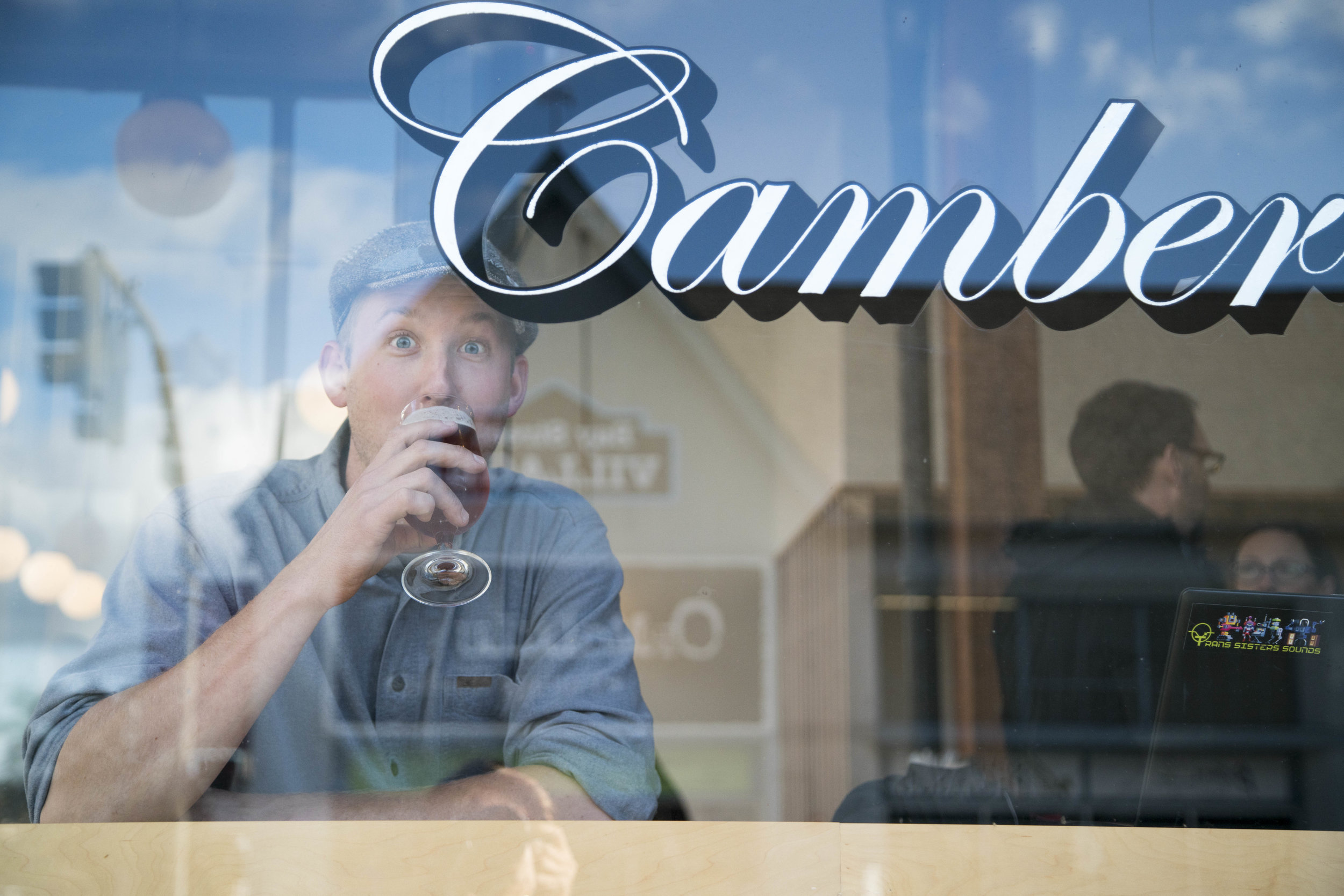 David Yake at flagship Camber Coffee. Photo: David Yake