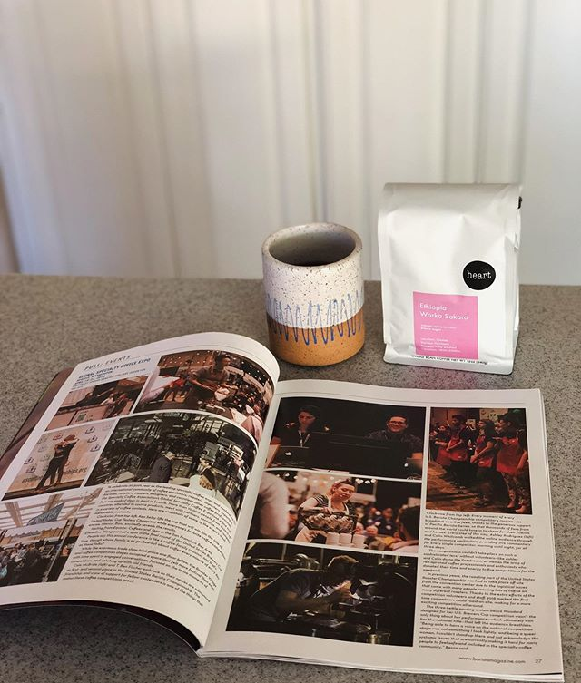 Taking it back to 2018 when I competed in the US Brewer's Cup. It wasn't the achievement of placing 6th in the nation that made me feel accomplished, but embracing the process and people who've helped me along the way. Perusing through the @baristamagazine issue this Sunday over some @heartroasters ☕️ has brought so many memories back 🥰