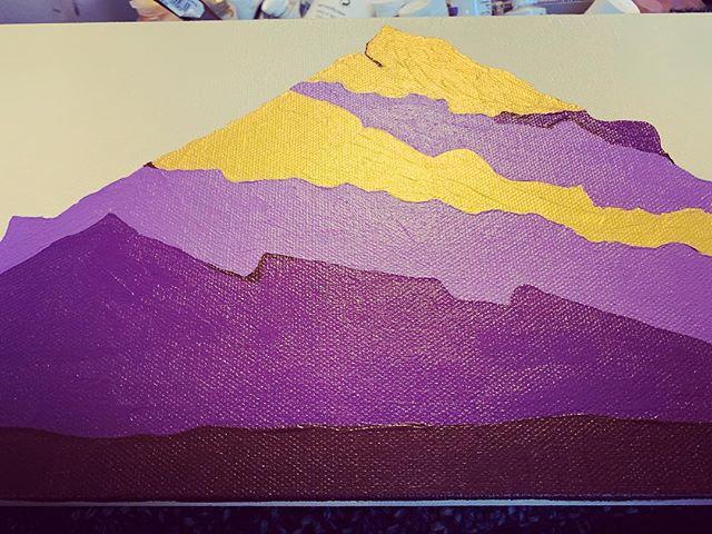 Work in progress, base layers down ☀️