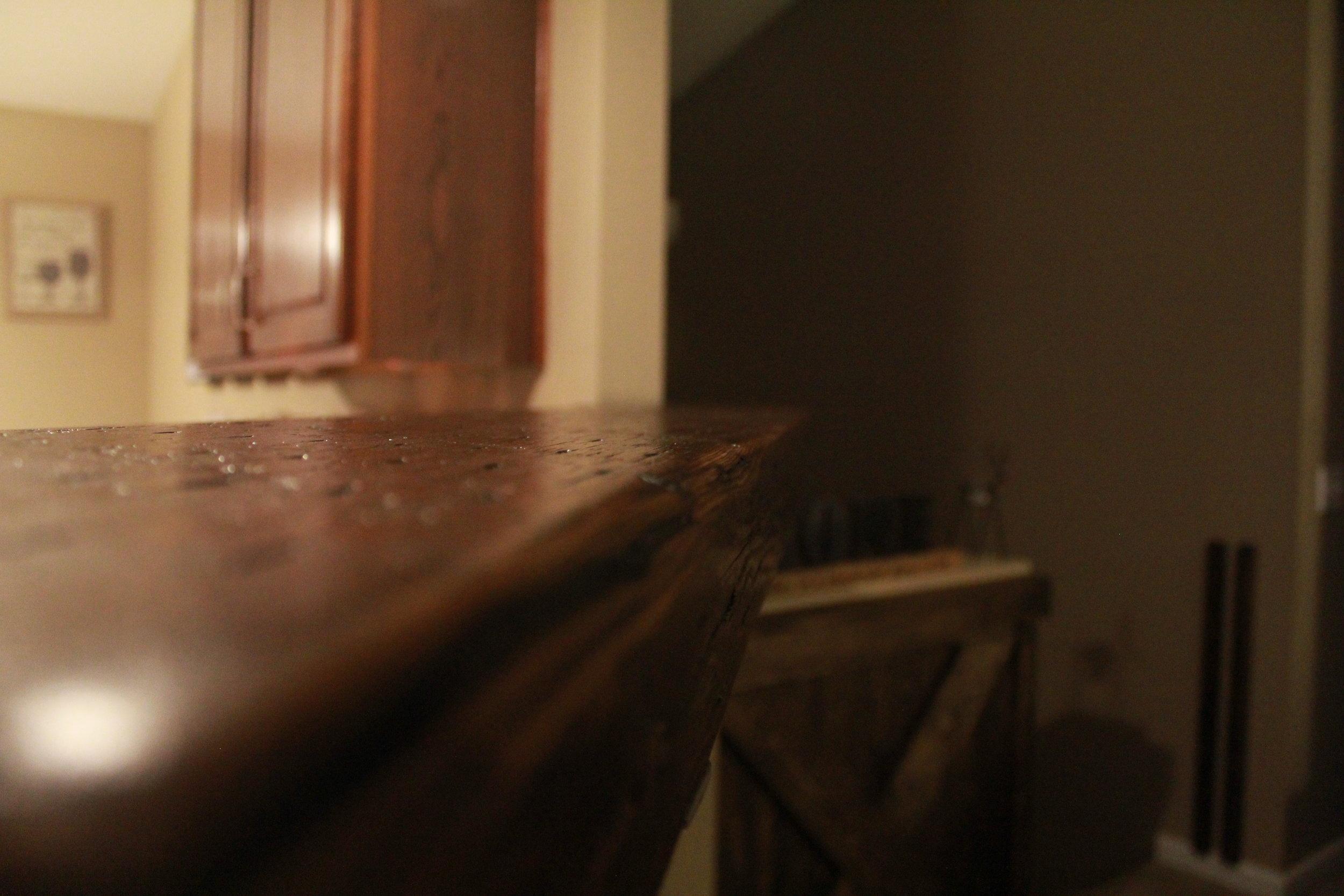 Bridge Plank Bar Top