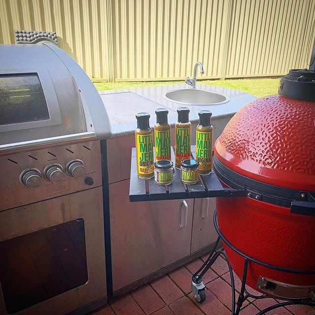 Sunday Spring BBQ @littlemanjerk style. Whats on your BBQ TODAY? M