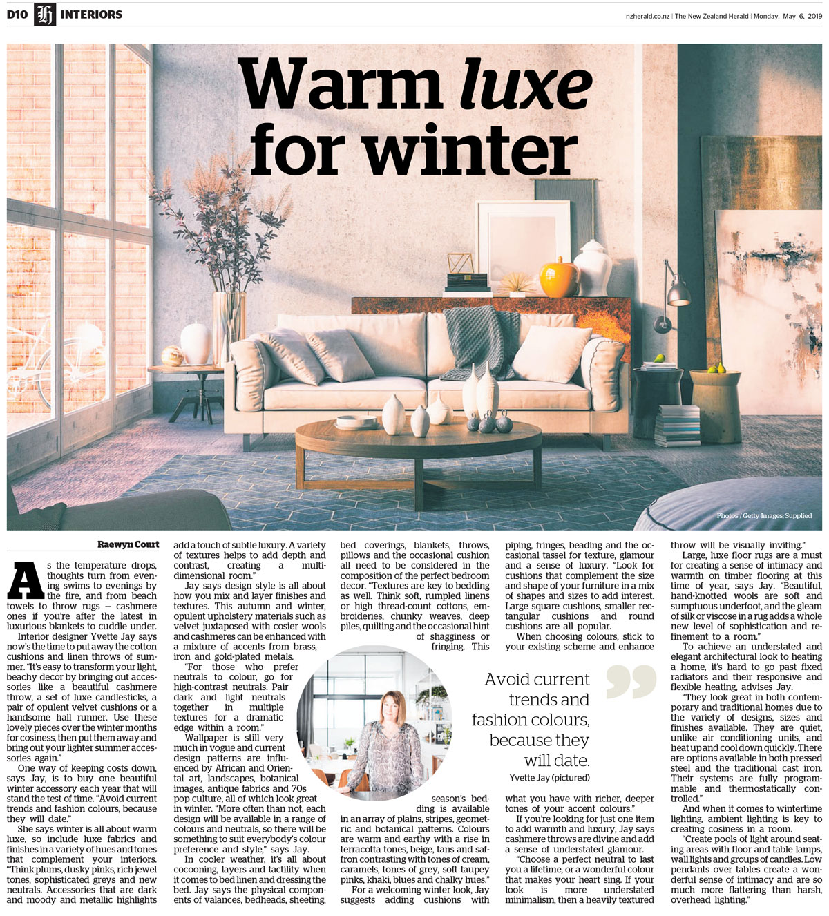 The NZ Herald — yvette jay