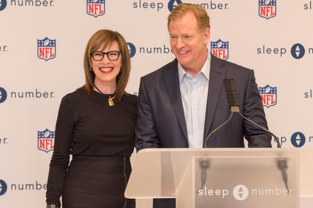 Sleep Number Partners with NFL