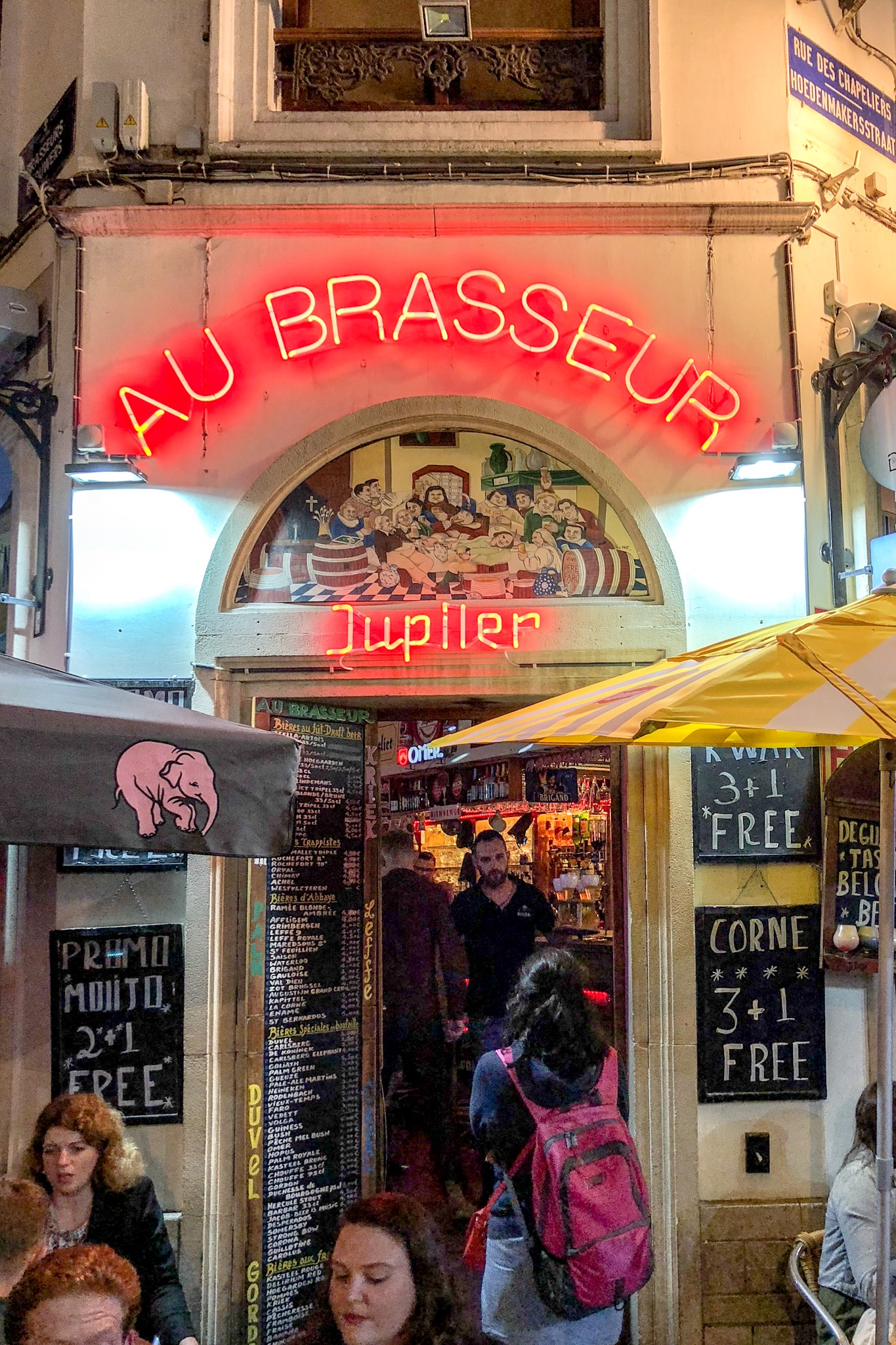 Au Brasseur Brews-on-Tap, Brussels