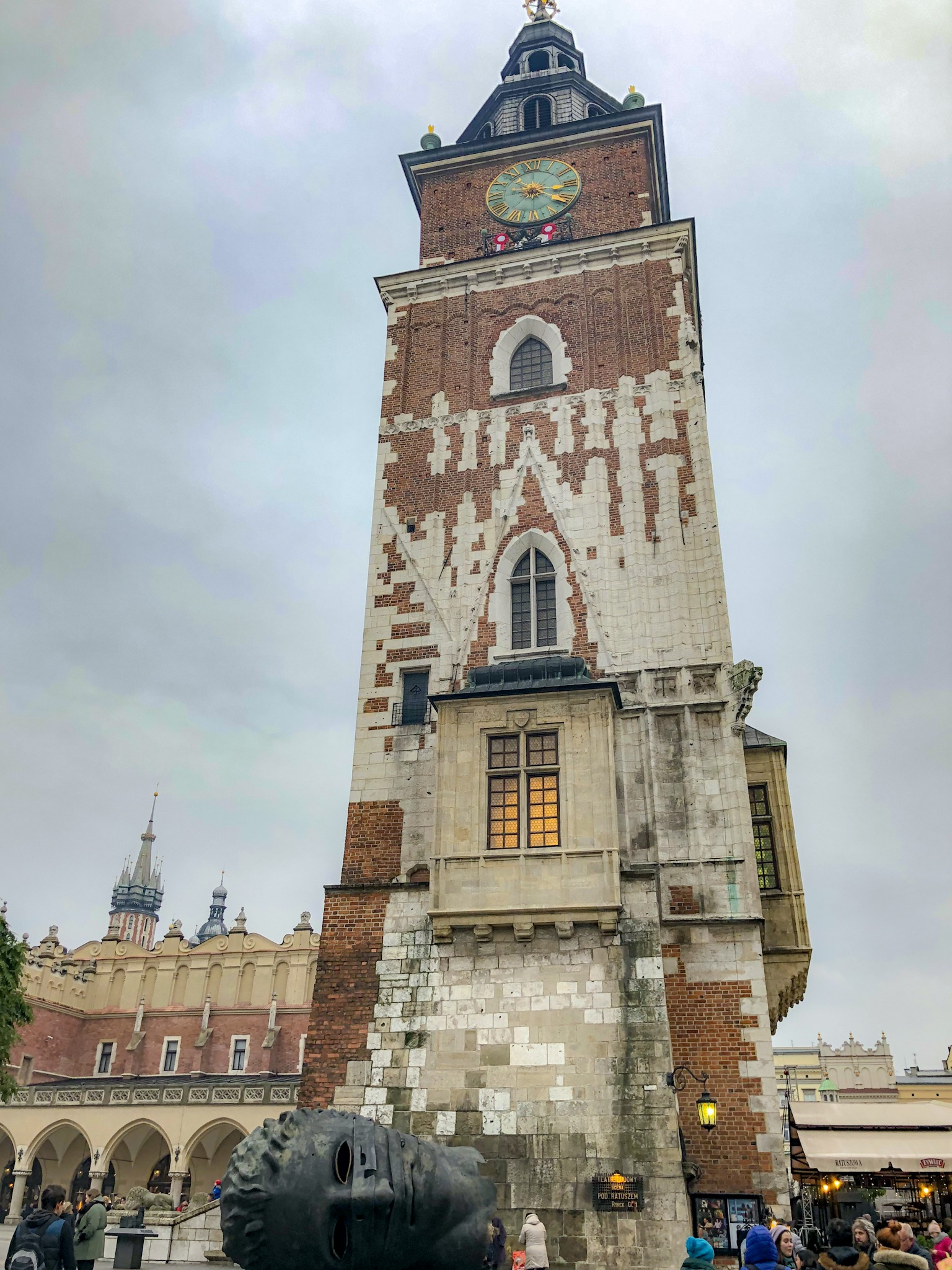Leaning Town Hall Tower, Krakow