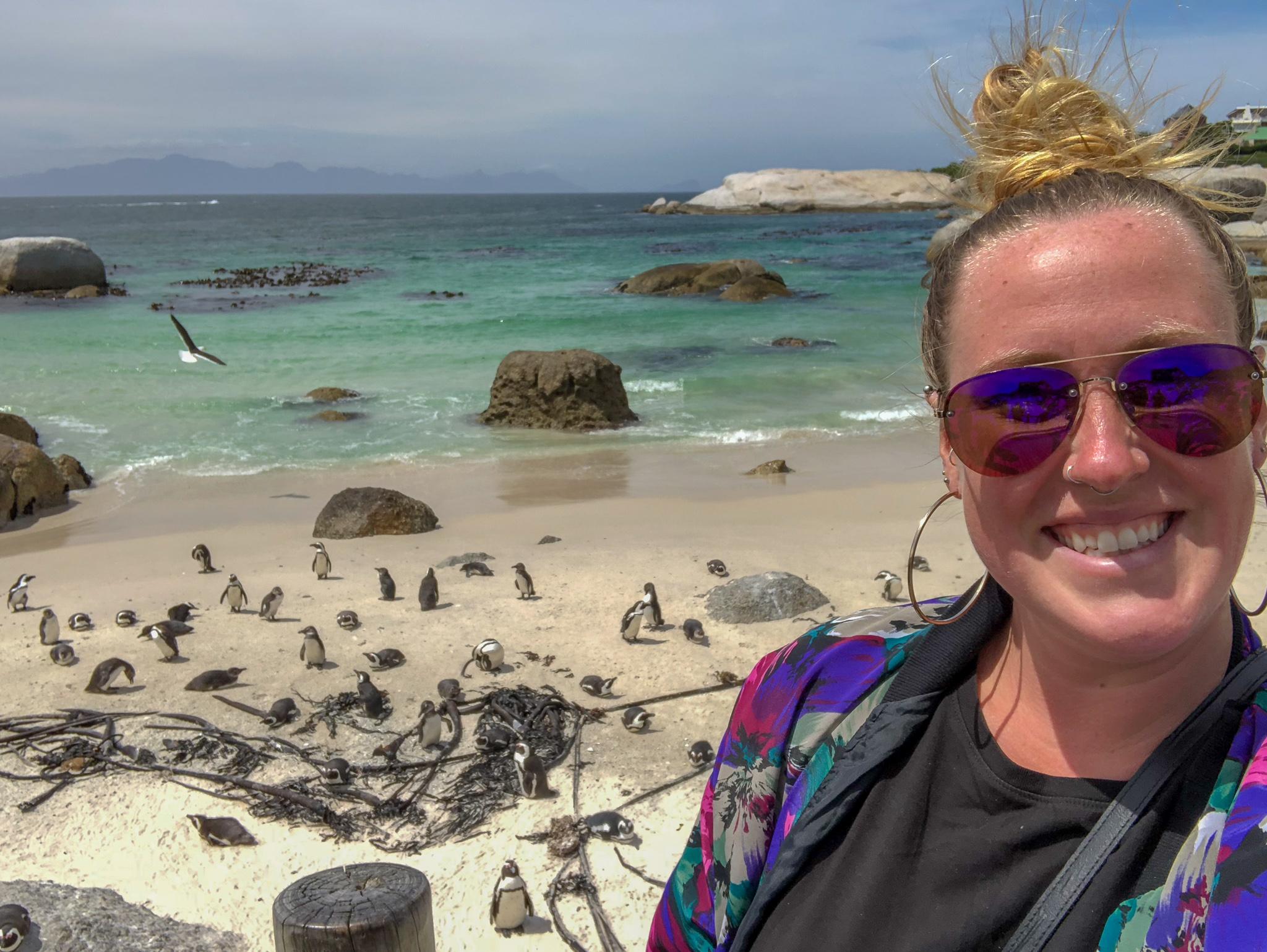 Boulder Beach Penguin Visit