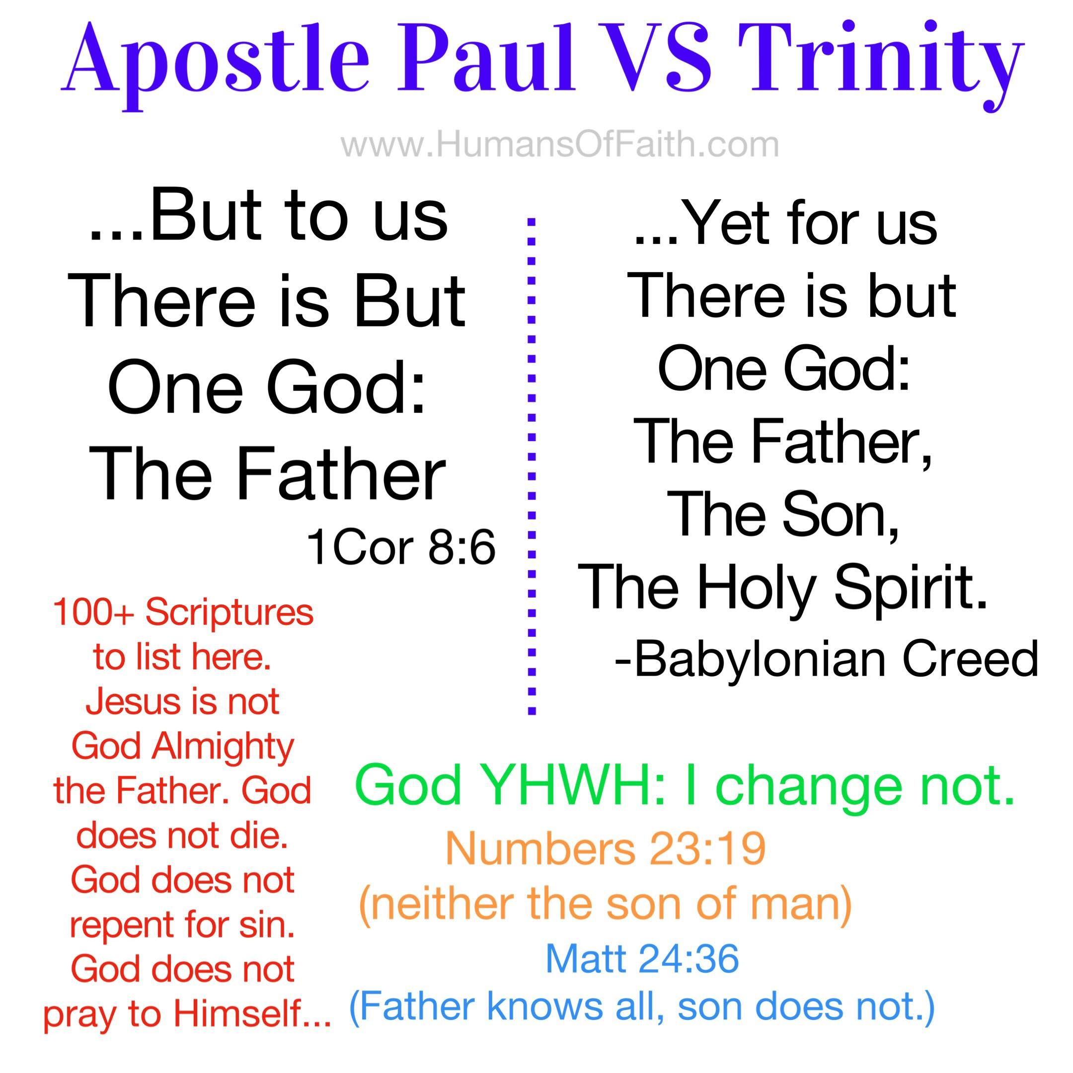 The Trinity Exposed ~ Jesus is Gods Only Begotten SON  / The