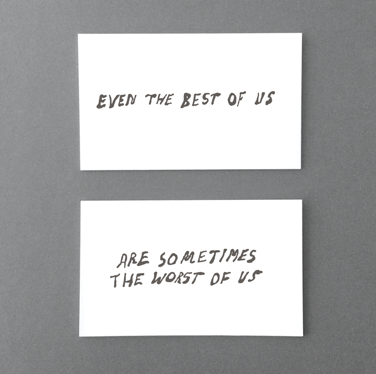 Even the best of us, 2014