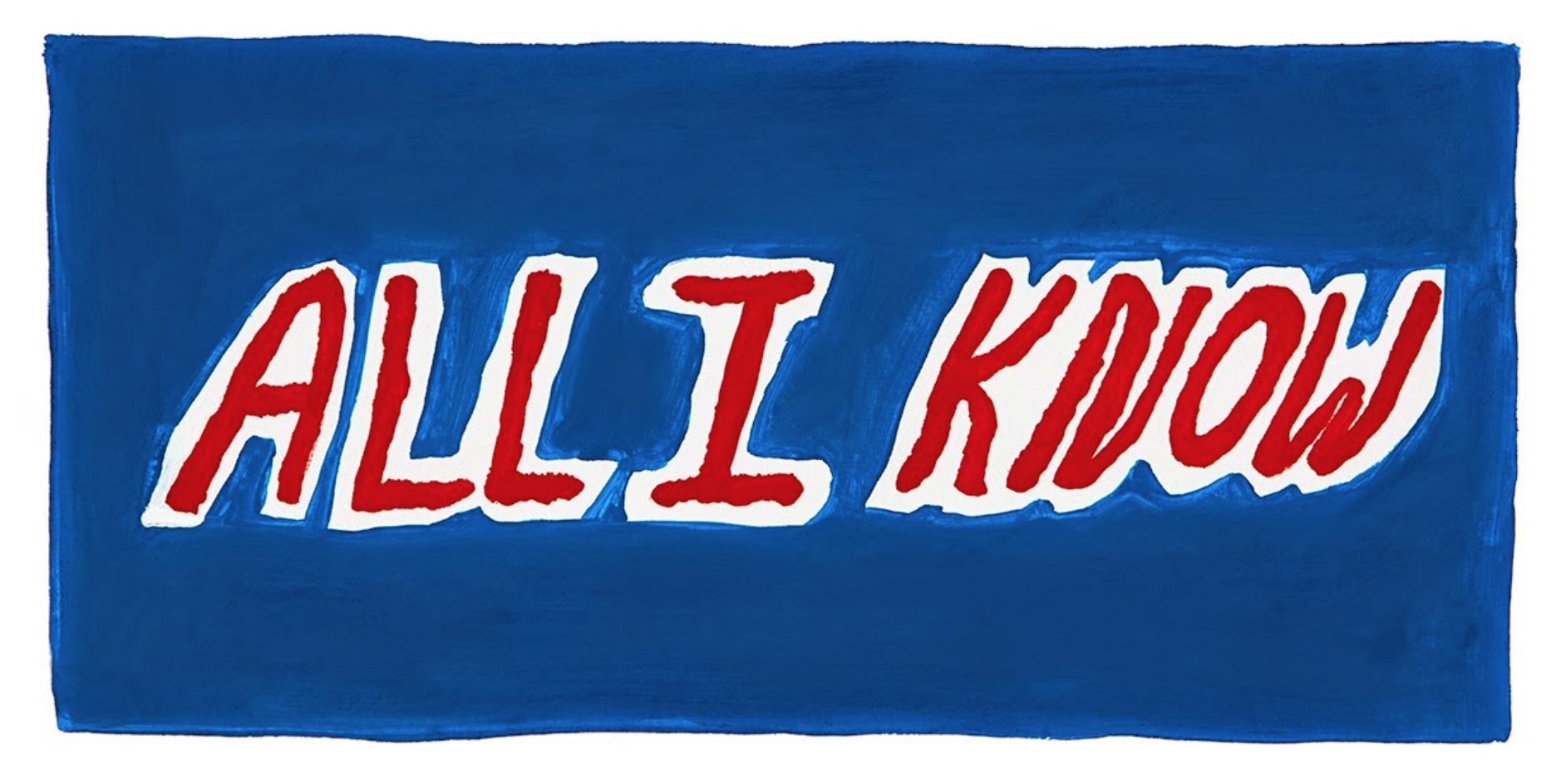ALL I KNOW, 2014