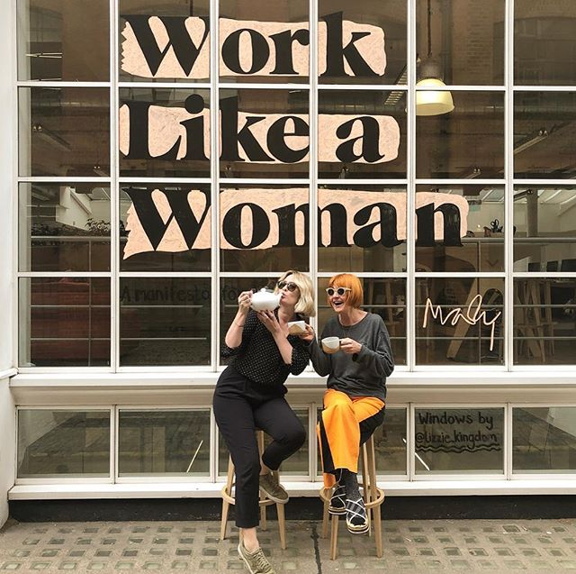And so it's a wrap on series 1 of #WorkLikeaWoman. That means time for a cuppa. Bizarrely @miss_ebp decided to neck it from the pot. Yes she's odd but that's why I love her and what makes her special. So a BIG thank you to all the other special women who joined me on this first series: we leave you with our final episode today featuring @bryonygordon... what a brilliant and honest woman she is. We cover a LOT: trash talking, the trick to true confidence and why when you open up your shame to the light, kills it! This podcast has been a glorious uplifting insightful journey so far. And there will be more. We have only just begun. Please subscribe, like, tell all your friends and we'll be in September... We can only change the world of work when we all come together. Meanwhile, be strong and remember be who you are. With love xM [@natwest_business]