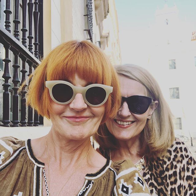 Two sisters let loose in Seville for a few days. All we did was talk, walk, eat and drink. And talk some more. Heaven.#mysisterandme #seville
