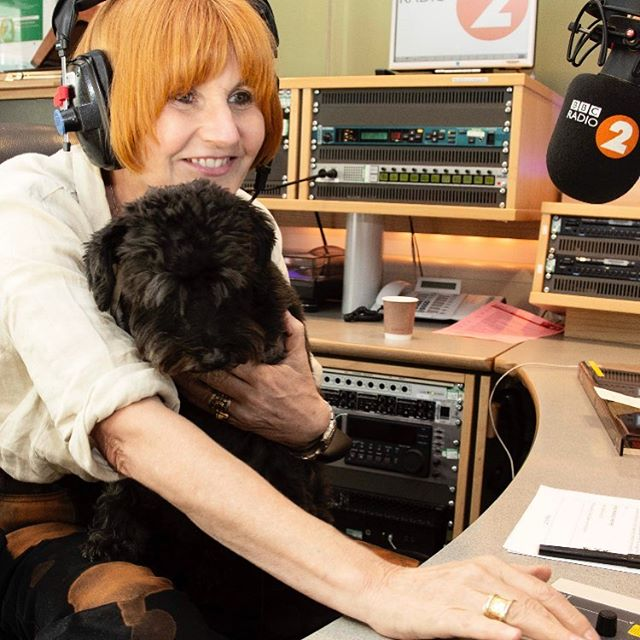 Me and my furry friend Walter the dog will be banging (and barking) out the tunes tonight and the next few days sitting in for @jowhiley on @bbcradio2  Listen in!