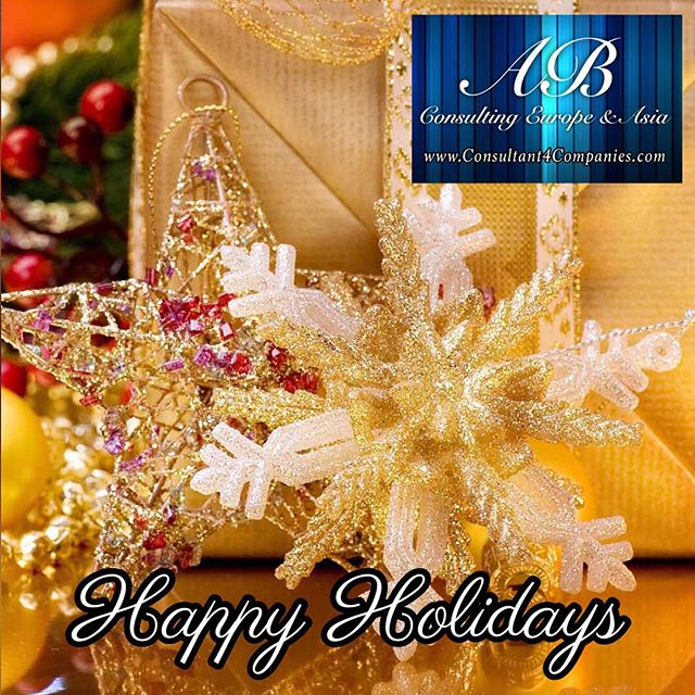 Happy Holidays / Joyeuses fêtes  The entire team of AB CONSULTING wishes you Happy Holidays and a great vacation!  Toute l'équipe de AB CONSULTING vous souhaite de joyeuses fêtes et d'excellentes vacances !  www.Consultant4Companies.com  AB Consulting Paris AB Consulting is a Sales & Marketing firm dedicated to promote your company & its products | services. Our mixed culture European and Asian, allows us to elaborate innovative and creative approaches for your business. We focus on strategic marketing, sales and service best practices. Our strong points are to make web design and social media management. We help companies to drive customer strategy and execution to accelerate results.  #Entrepreneurs #CompanyEngagement #Sales #Website #Advertising #SocialMedia #Networking #Accounting #BusinessAdministrative #Marketing #happyholidays #christmas #joyeusesfetes #vacances #holiday #vacation #noel #ABConsulting #ABConsultant #ABConsultingParis #sme #salesmarketing #fêtes #media