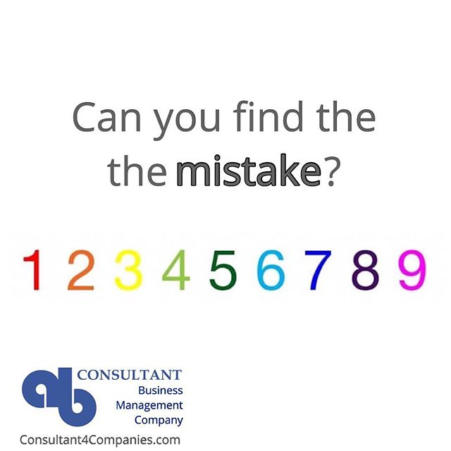 There's Only One Thing Wrong With This Picture.  Can You Find Out In Five Seconds?  www.Consultant4Companies.com  #mistake #math #numbers #eye #sharp #Emailing #ABConsultantParis #emailing #email #sosmed #SEO #Entrepreneurs #CompanyEngagement #Sales #Website #Advertising #SocialMedia #Networking #BusinessAdministrative #Marketing #ABConsulting #ABConsultant #ABConsultingParis #sme #salesmarketing #media #entrepreneur