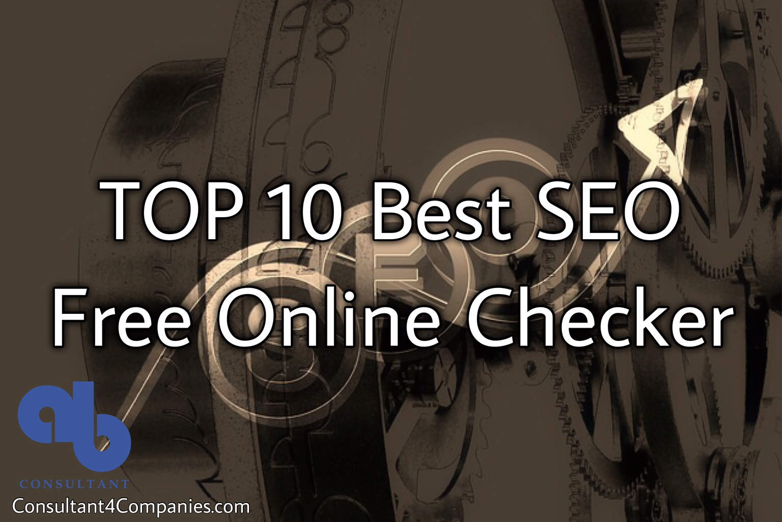TOP 10 Best SEO Free Online Checker