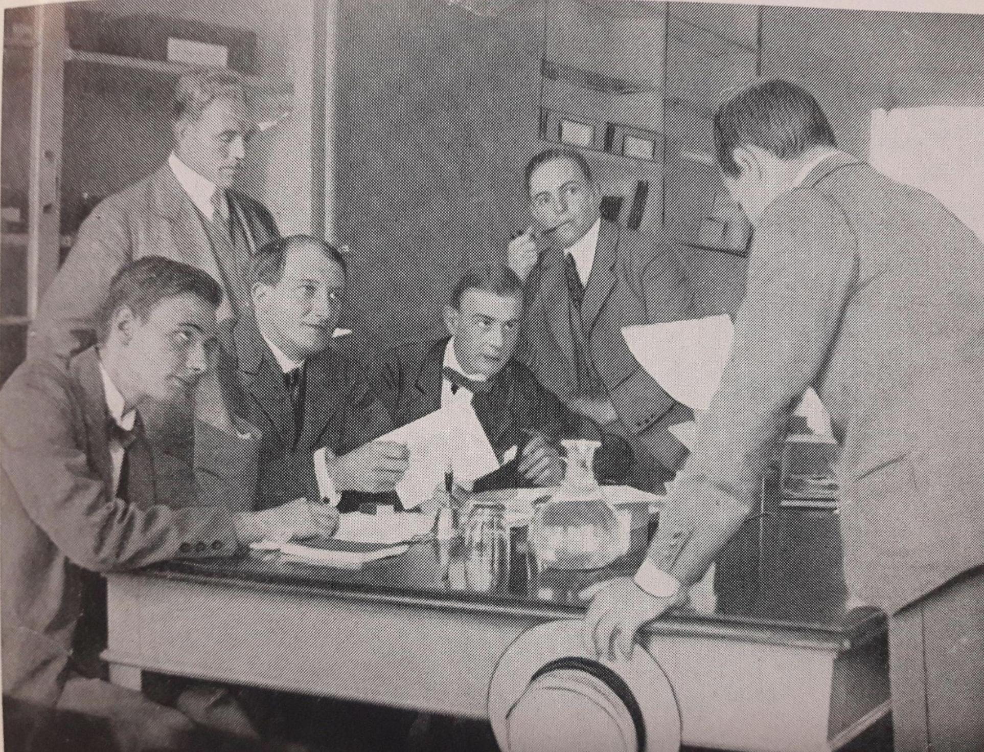Et af Studenterrådets første møder
