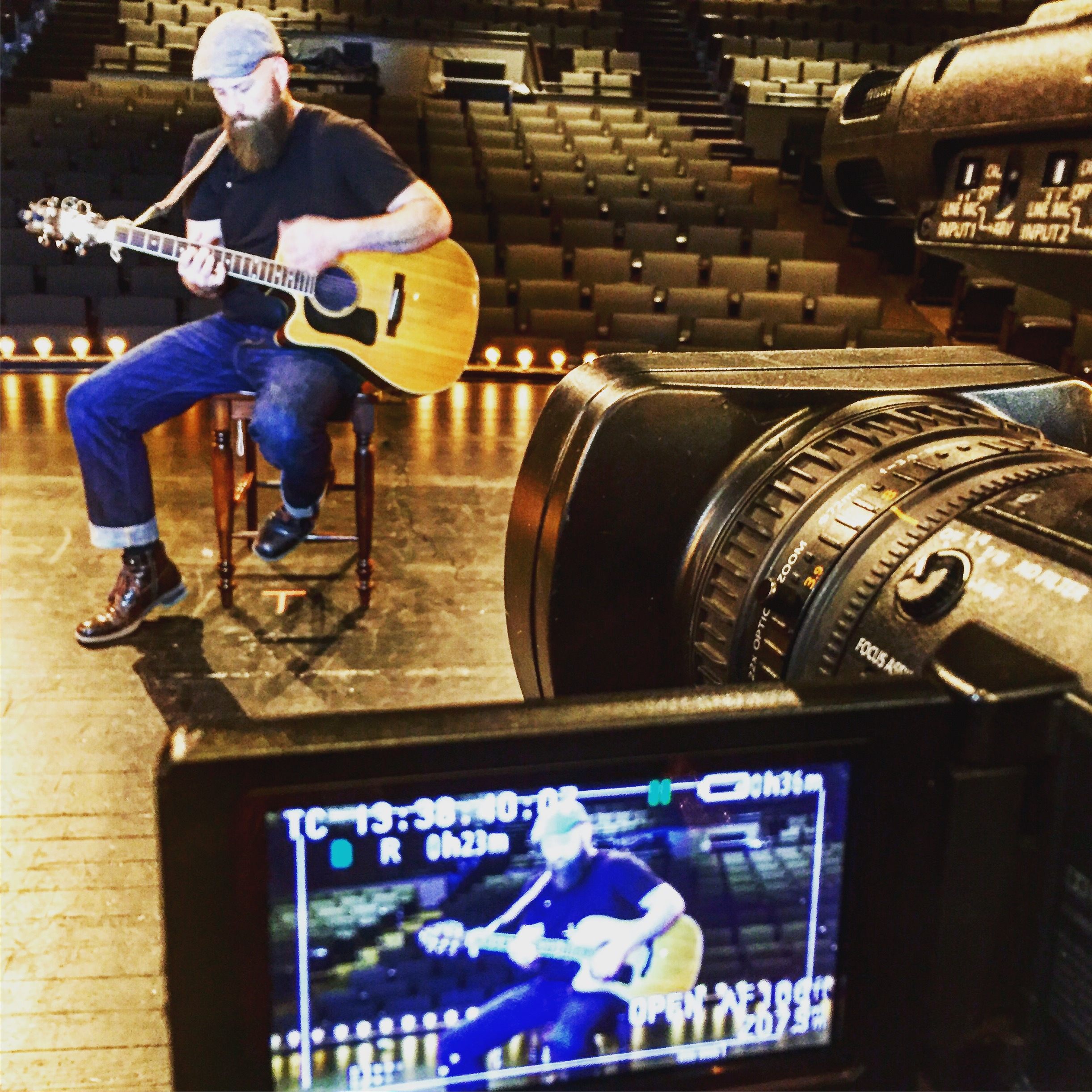 """Anthony Wayne was a recent guest on  Eastern Kentucky TV's Mountain Music . Check out the exclusive interview with Shawn Allen and Anthony's touching performance of """"I Will Rise,"""" from the recently released CD, BURY WHO WE ARE."""
