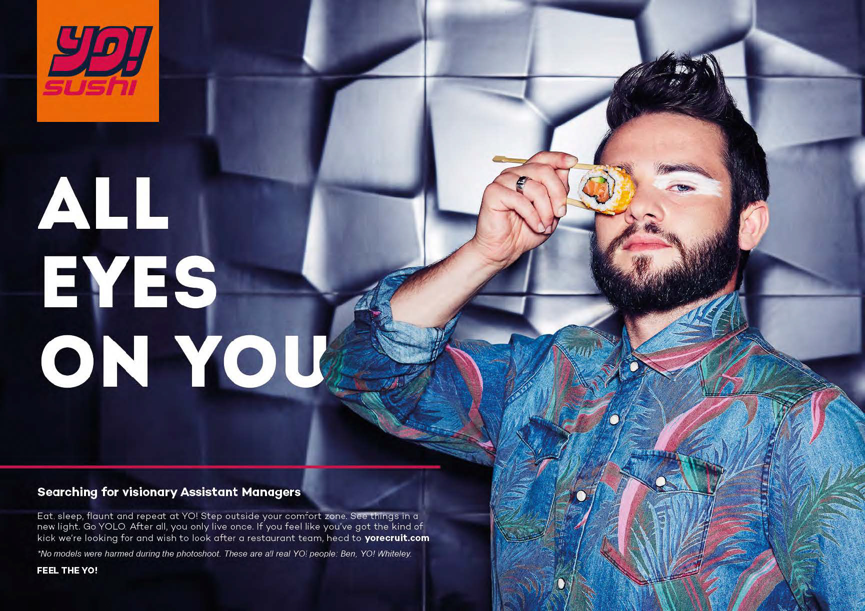 Yo! Sushi Recruitment Campaign