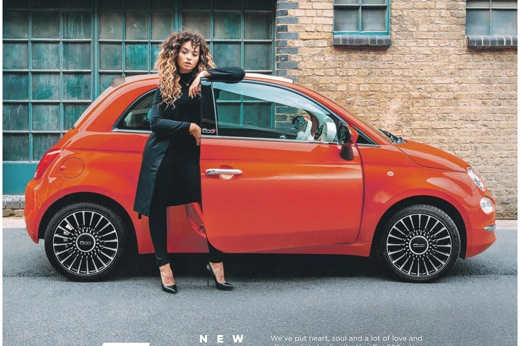 Fiat 500 - Ella Eyre