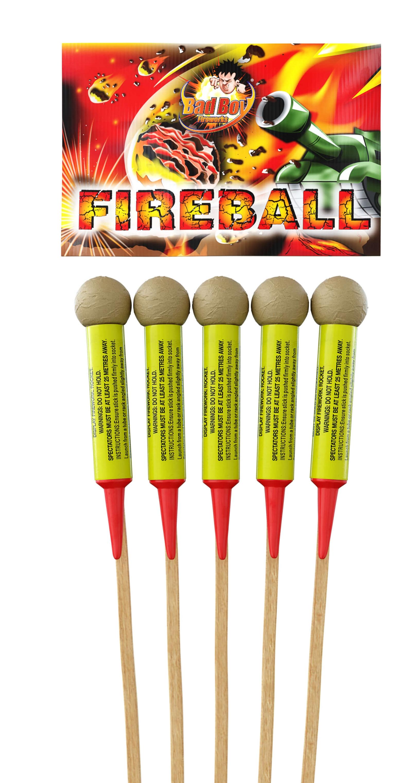 Fireball 5pk Rockets - RRP £45.00