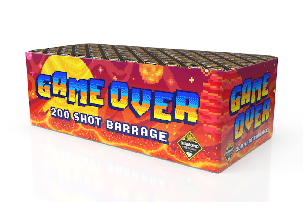 GAME OVER 200 SHOT - RRP £300