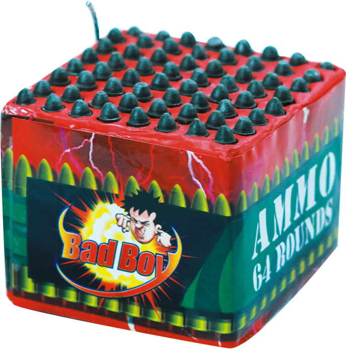 AMMO 64 ROUNDS -RRP £7.00