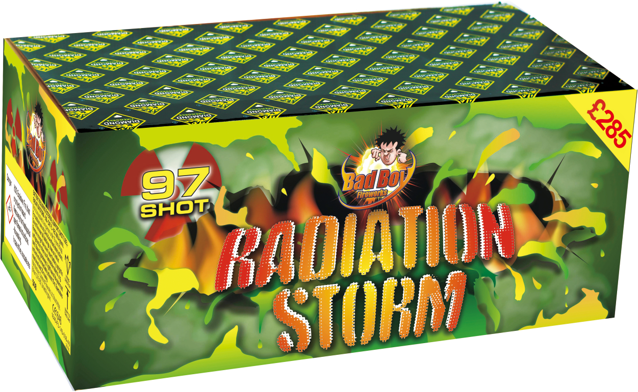 BAD BOY RADIATION STORM 97 SHOT - RRP £285