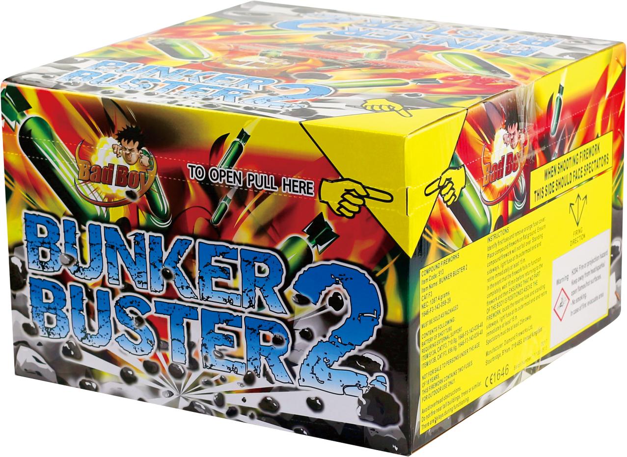BUNKER BUSTER 121 SHOTS - RRP £225.00