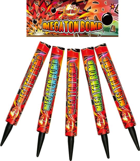 MEGATON BOMB 5pk - RRP £20.00
