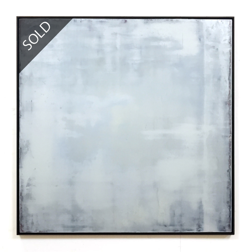 martin lechner carré #00870317 - oil on canvas on panel 120 x 120 x 4 cm