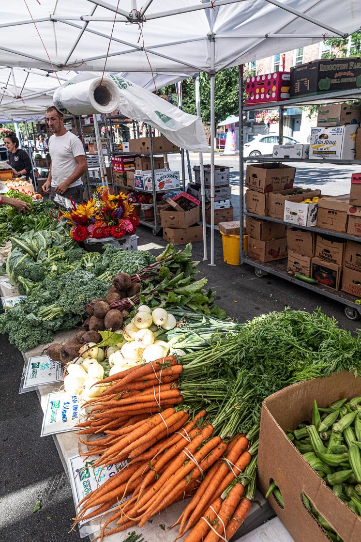 Classic near Stamford's farmer's market