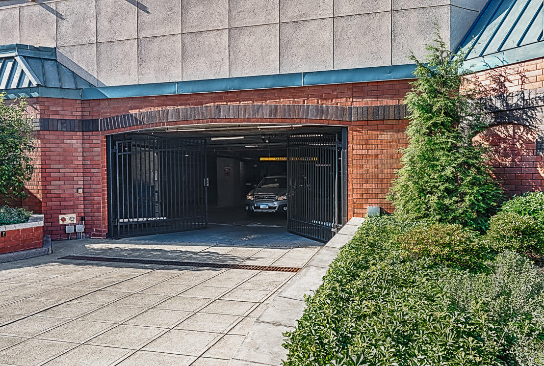 Classic's gated garage