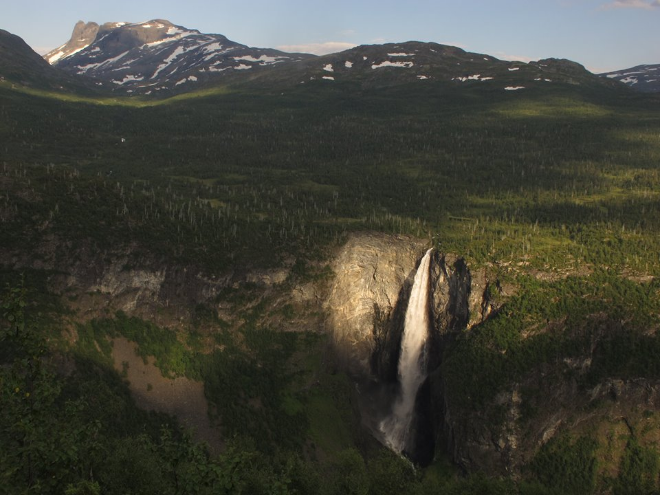Vettisfossen seen from Stølsmaradalen. PHOTO: Ole Magnar Nundalen