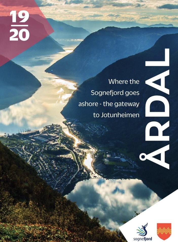 Your guide to what`s on offer in Årdal (Kjelde AS).