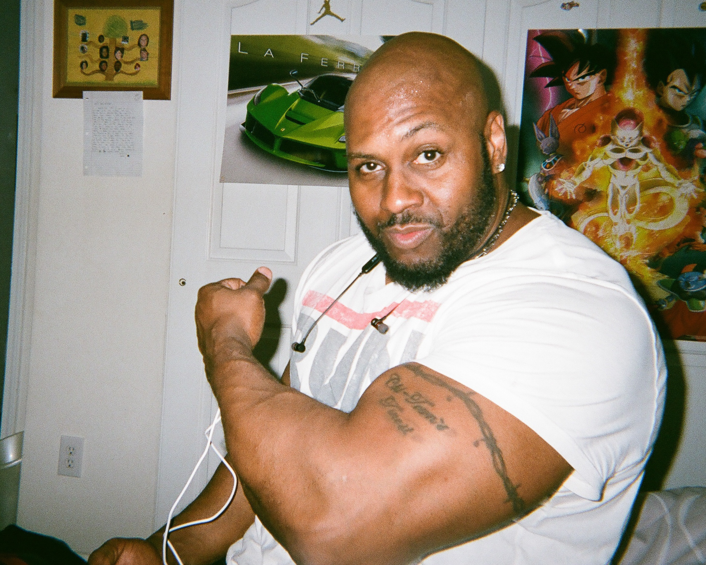 """My Big, Buff Dad  by John Michael Simmons   """"My Dad works out even through I don't get to see him all day everyday. He's buff and I love him and I love everything he does for me."""""""