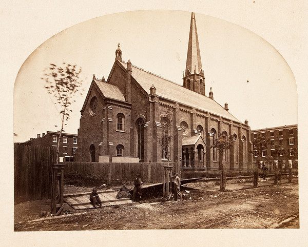 S. Clement's shortly after construction, c. 1860