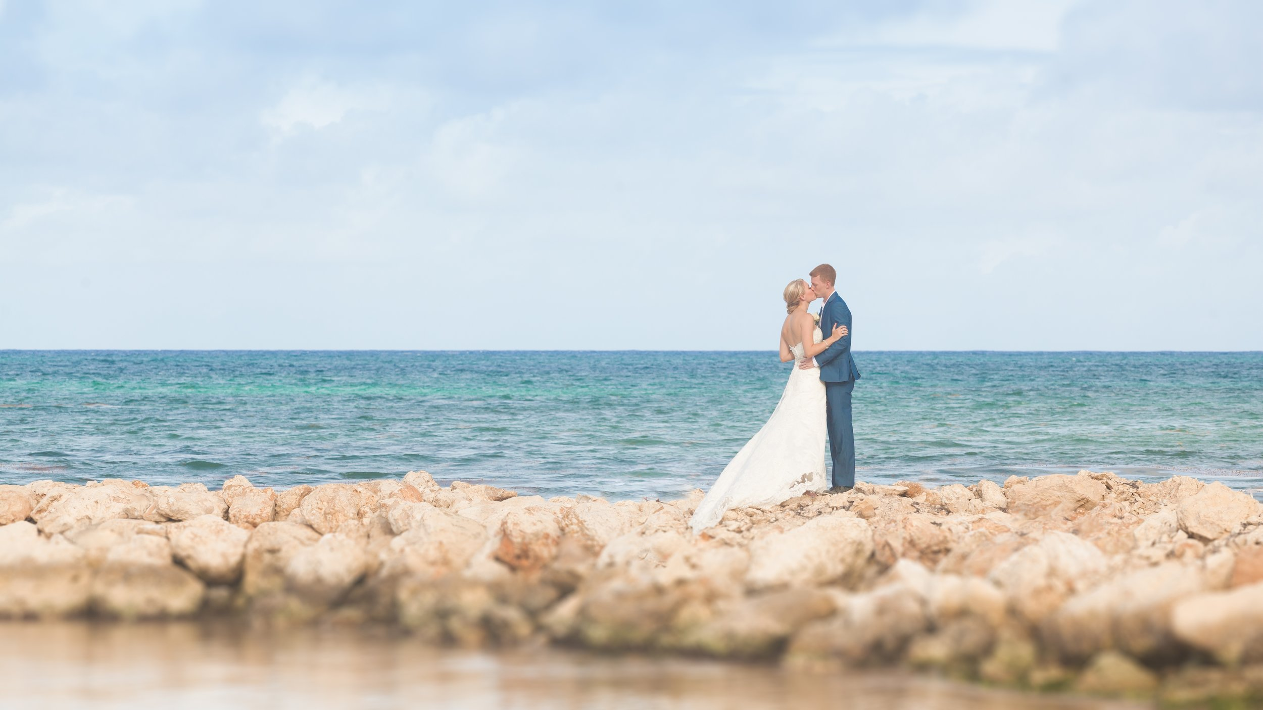 Our destination wedding in the Dominican Republic.